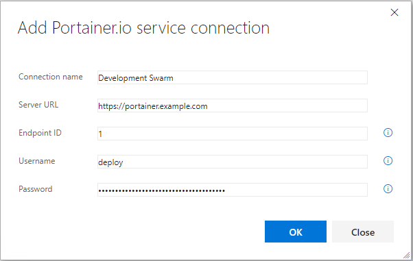 Service endpoint